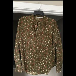 Abercrombie & Fitch Women's Floral Blouse